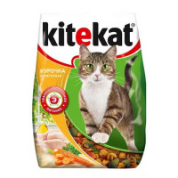 Корм для кошек Китекят курочка аппетитная 350г