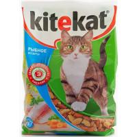 Корм для кошек Китекят рыбное ассорти 350г