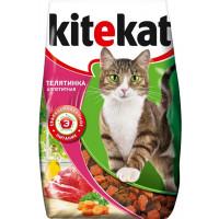 Корм для кошек Китекят телятинка аппетитная 1,9кг
