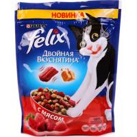 Корм для кошек Феликс Двойная вкуснятина мясо 300г