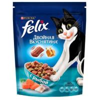 Корм для кошек Феликс Двойная вкуснятина рыба 300г