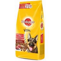Корм для собак Педигри для крупных собак говядина 13кг