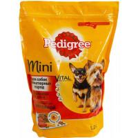 Корм для собак Педигри для миниатюрных пород с говядиной 1,2кг