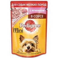 Корм для собак Педигри для миниатюрных пород с ягненком 85г