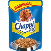 Корм для собак Чаппи пауч курочка аппетитная 100г