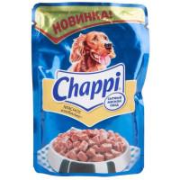 Корм для собак Чаппи пауч мясное изобилие 100г