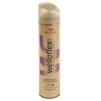Лак для волос Веллафлекс объем д/тонких волос супер-сильная фиксация 250мл