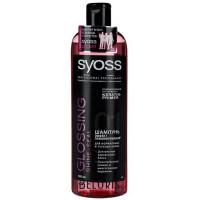 Шампунь Сйосс с эффектом ламинирования для нормальных и тусклых волос 500мл