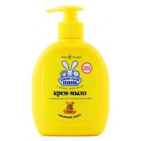 Мыло Ушастый нянь с оливковым маслом и экстрактом элоэ вера 300мл