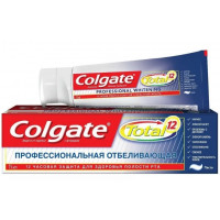 Паста зубная Колгейт Тотал 12 профессиональная отбеливающая 75мл