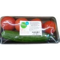 Ассорти Выборжец (томаты + огурцы) 700г