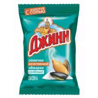 Семечки Джинн соль жареные 140г