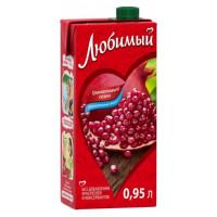 Напиток Любимый яблоко-гранат-черноплодная рябина 0,95л