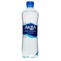 Вода Аква Минерале Актив питьевая газированная 0,5л