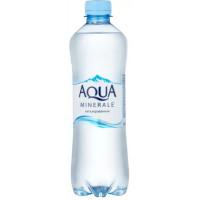 Вода Аква Минерале Актив чистая питьевая негаз 0,5л