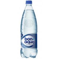 Вода Бонаква чистая питьевая газированная 1л