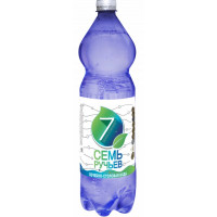 Вода Семь ручьев минеральная питьевая лечебно-столовая газ 1,5л