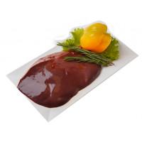 Печень говяжья п/ф кг