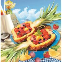 Салат фруктовый в ананасе банкет шт
