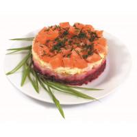 Салат семга на шубе банкет кг