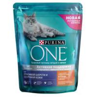 Корм для кошек Пурина Ван для шерсти и контроля образования волосяных комков 750г