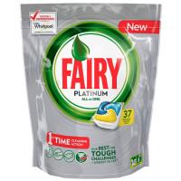 Средство Фэйри для посудомоечных машин платинум лимон в капсулах 37шт