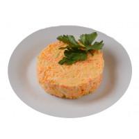 Салат из моркови с сыром кг*