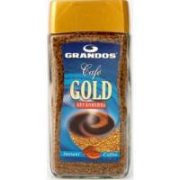 Кофе Грандос Голд растворимый без кофеина с\б 100г