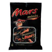 Батончики шоколадные Марс минис 182г