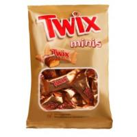 Батончик шоколадный Твикс минис с карамелью в молочном шоколаде 184г