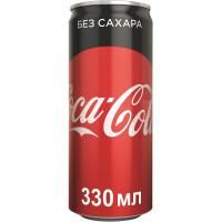 Кока-Кола зеро ж/бн 0,33л