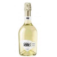 Вино игристое Колли Нобили Бьянко Миллезимато белое брют 0,75л 11%
