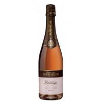 Вино игристое Патриарш Эритаж Розе розовое брют 0,75л 11,5%