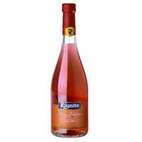 Вино игристое Риуните Ламбруско Розе розовое п/сл 0,75л 8%