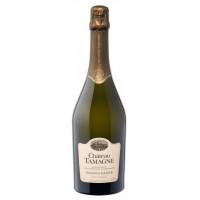 Вино игристое Шато Тамань белое п/сладкое 0,75л 10,5-12,5%