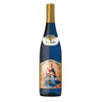 Вино Доктор Биндерер молодая любимая женщина белое п/сл 0,75л 9,5% голубая бутылка
