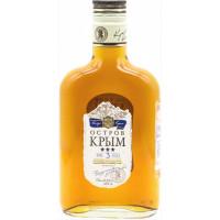 Коньяк Остров Крыма Российский 3года 0,25л 40%