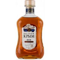 Коньяк Остров Крыма Российский 3года 0,5л 40%
