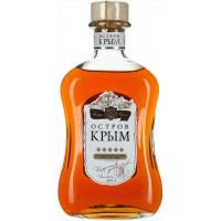 Коньяк Остров Крыма Российский 5лет 0,5л 40%