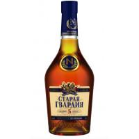 Коньяк Старая гвардия российский 5 лет 0,5л 40%