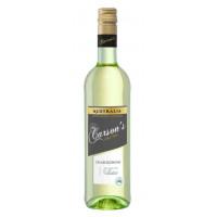 Вино Карсон Шардоне белое сухое 0,75л 12,5%