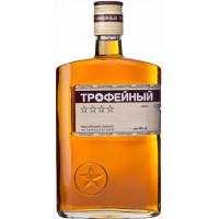Коньяк Трофейный 4 года 0,5л 40% фляга