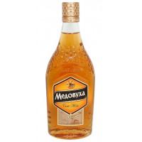 Настойка горькая Сила меда Медовуха гречишная с ароматом меда 40% 0,5л