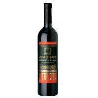 Вино Вазиани Алазанская долина красное п/сладкое 0,75л 11,5%