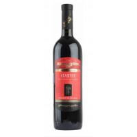 Вино Вазиани Ахашени красное п/сладкое 0,75л 10,5%