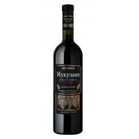 Вино Гремсеули Мукузани красное сухое 0,75л 12%