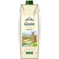 Вино Густо Вино белое сухое 1л 10-12%