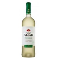 Вино Винья Албали Вердехо Вальдепеньяс белое сухое 0,75л 12,5%