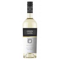 Вино Гран Кастильо Москатель белое п/сл 0,75л 11-12%