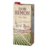 Вино Дон Симон красное сухое 1л 11%